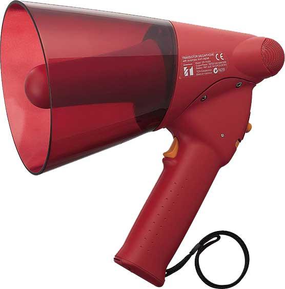 ER-1206S TOA – ручной мегафон средней мощности с сигналом сирены