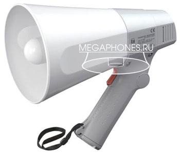 ER-520W - компактный ручной мегафон небольшой мощности с сигналом свистка