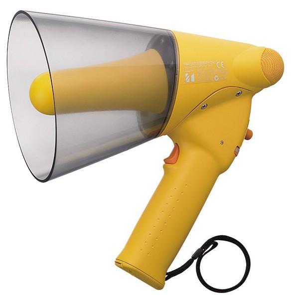 ER-1206W TOA – ручной мегафон средней мощности с сигналом свистка