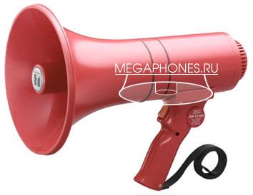 ER-1215S - ручной мегафон с сиреной средней мощности, 23 Вт